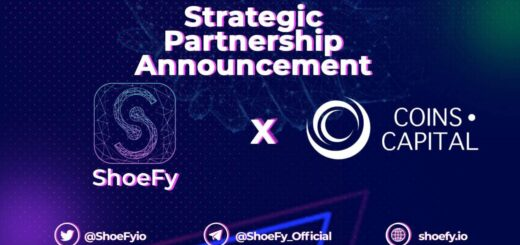 """""""ShoeFy"""" Reshaping NFTs starting with Digital Sneakers, Announces Partnership with COINS CAPITAL 1"""