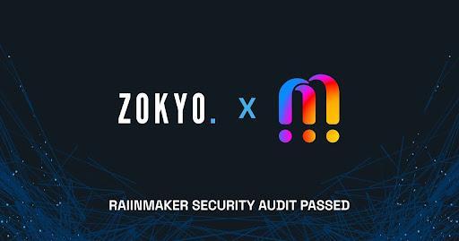 Raiinmaker Influencer Marketing App Passes Zokyo Smart Contract Audits 1